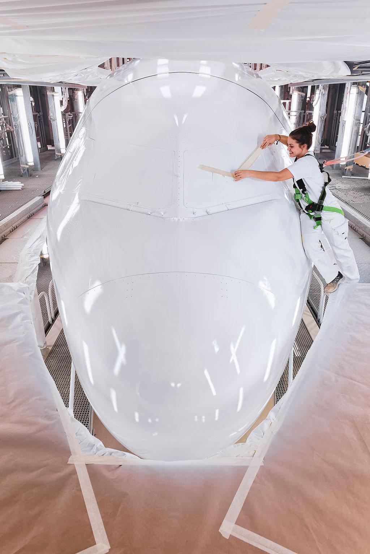 Airbus Paint Shop © Hermann Jansen