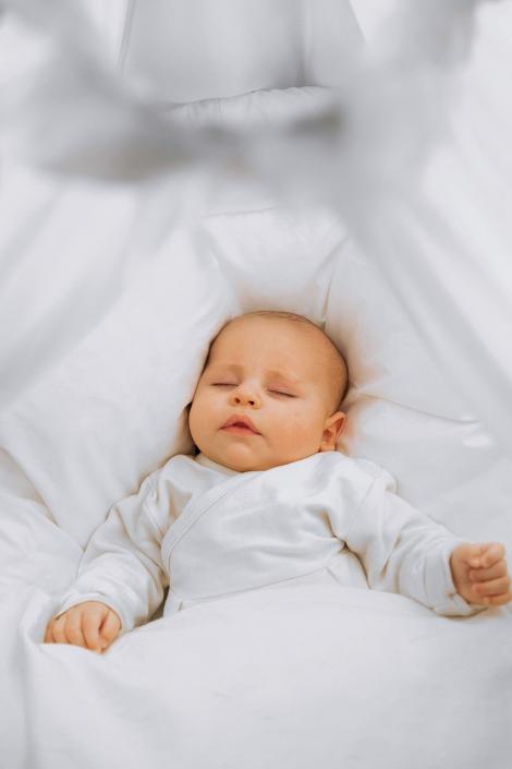 schlafendes Baby © Hermann Jansen