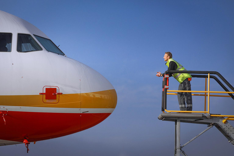 Ramp Up Marketing A320 Kampagne Airbus © Hermann Jansen