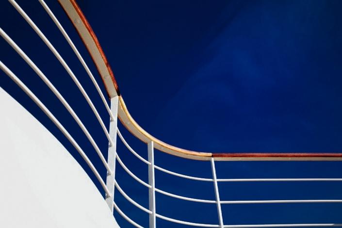 Schiff Reling © Hermann Jansen