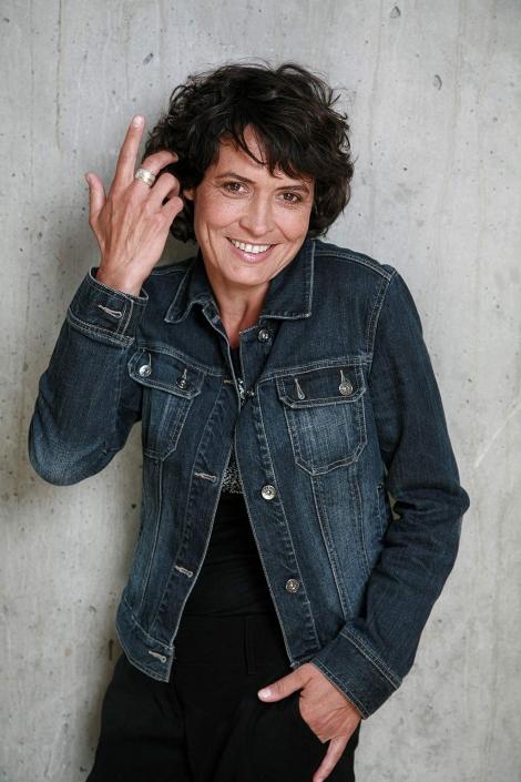 Ulrike Folkerts Schauspielerin Porträtfoto © Hermann Jansen