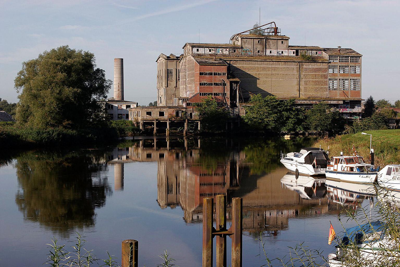 Alte Zementfabrik in Elmshorn © Hermann Jansen