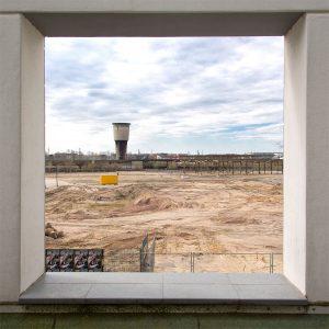 Ausblick auf das Baufeld Neue Mitte Altona © Hermann Jansen