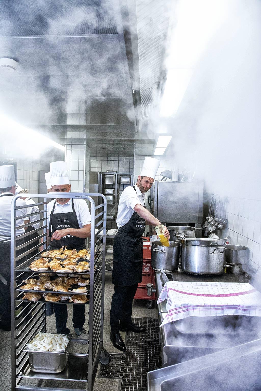 Kochevent zum Teambuilding © Hermann Jansen