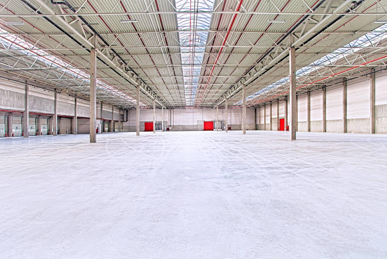 Halle in Rade Innenansicht © Hermann Jansen