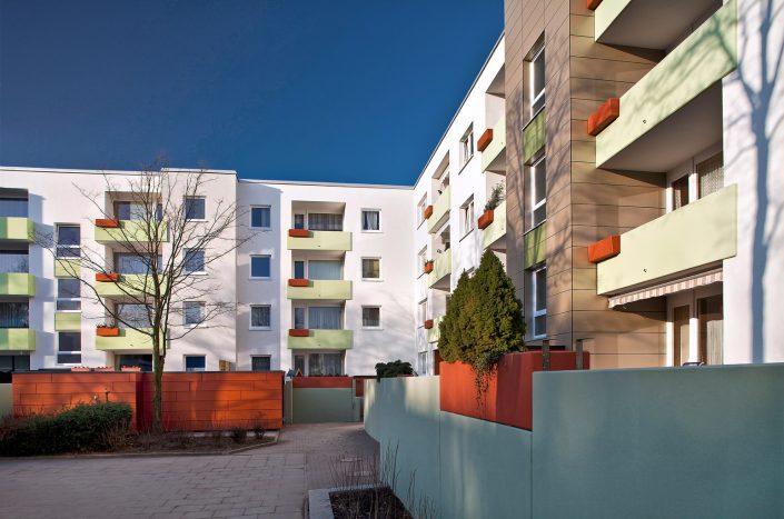 Rahewinkel Wohnanlage Architekturfoto © Hermann Jansen