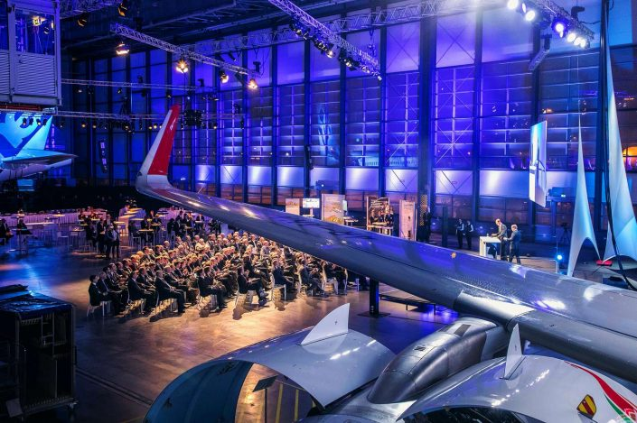 Take-Off Veranstaltung Airbus © Hermann Jansen