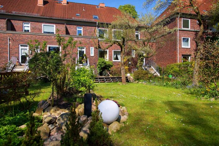 Garten Sengelmannstraße © Hermann Jansen